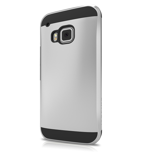 ITSkins Evolution Skal till HTC One M9 - Silver