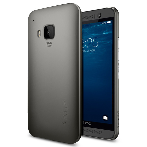 SPIGEN Thin Fit Skal till HTC One M9 - Gunmetal