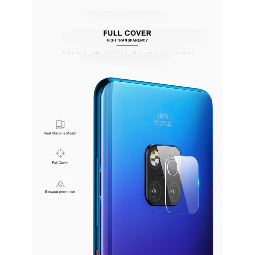 Tempered Glass Kamera Skydd till Huawei Mate 20 Pro