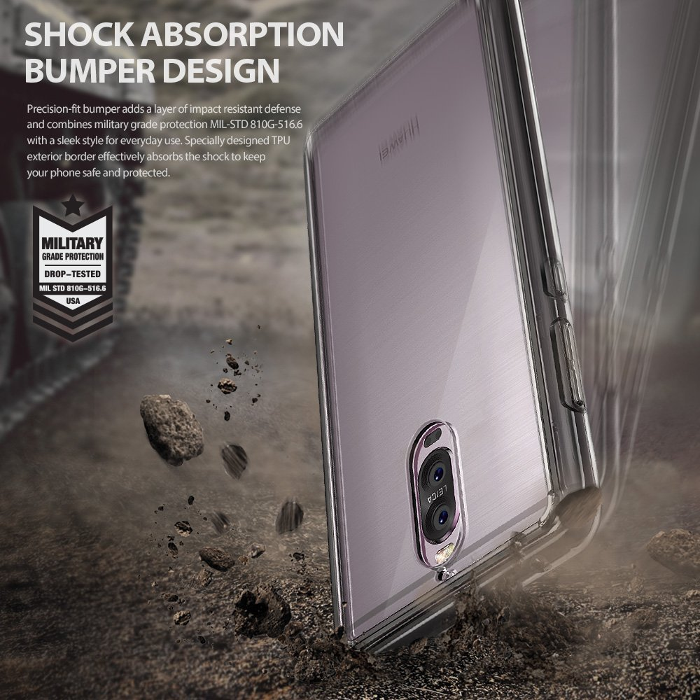 Ringke Fusion Shock Absorption Skal till Huawei Mate 9 Pro - Clear