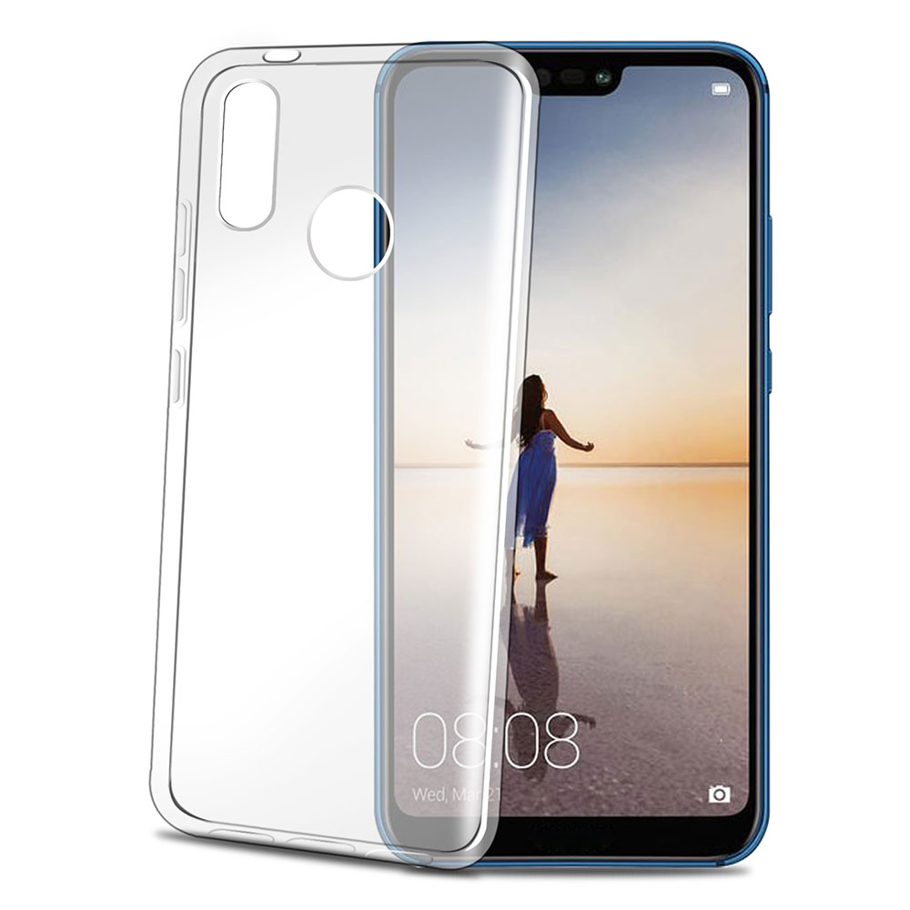Celly Gelskin TPU Cover Huawei P20 Lite - Transparent