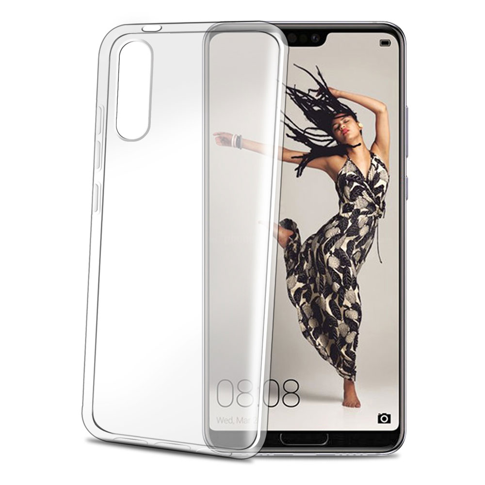 Celly Gelskin TPU Cover Huawei P20 Pro - Transparent