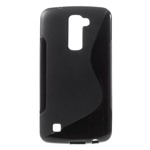 S-Curve Mobilskal till LG K10 - Svart