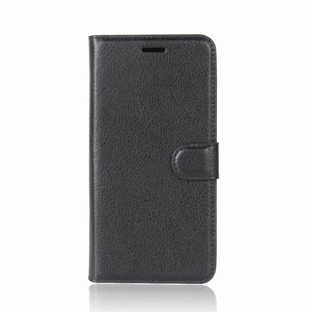 Plånboksfodral till LG Q6 - Svart