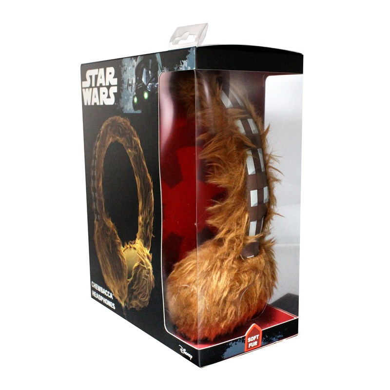 STAR WARS Hörlur Wookie On-Ear Pälsklädd Brun