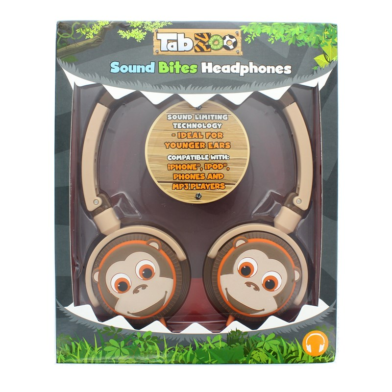 TABZOO Hörlur On-Ear 85dB Spärr - Apa