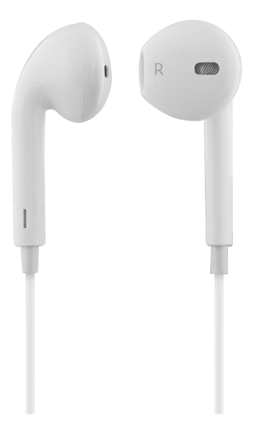 STREETZ in-ear headset, Bluetooth, 2h speltid, vit