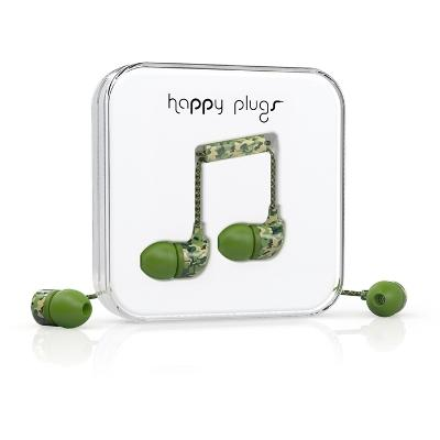 Happy Plugs In-Ear Camouflage (Unik Edition)