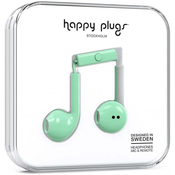 Happy Plugs Earbud Plus - Mint