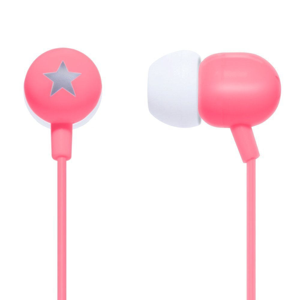 STK Stereo Headphones 3.5 mm - Rosa