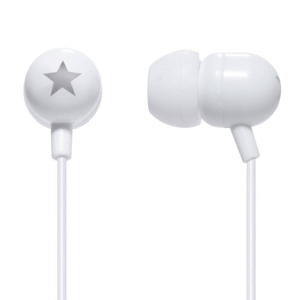 STK Stereo Headphones 3.5 mm - Vit