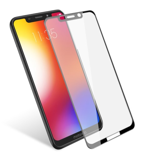 Tempered Glass till Motorola One - Svart