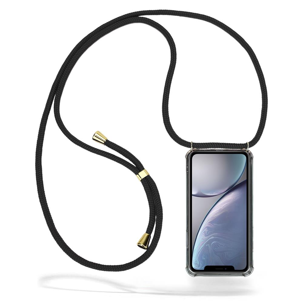 CoveredGear Necklace Case iPhone XR - Black Cord