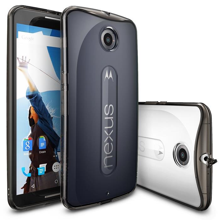 Ringke Fusion Skal till Google Nexus 6 - Grå