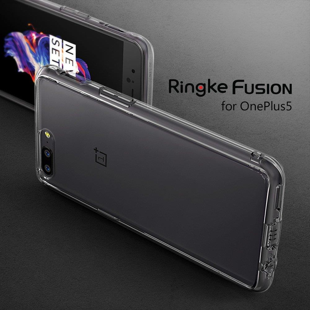 Ringke Fusion Shock Absorption Skal till OnePlus 5 - Clear