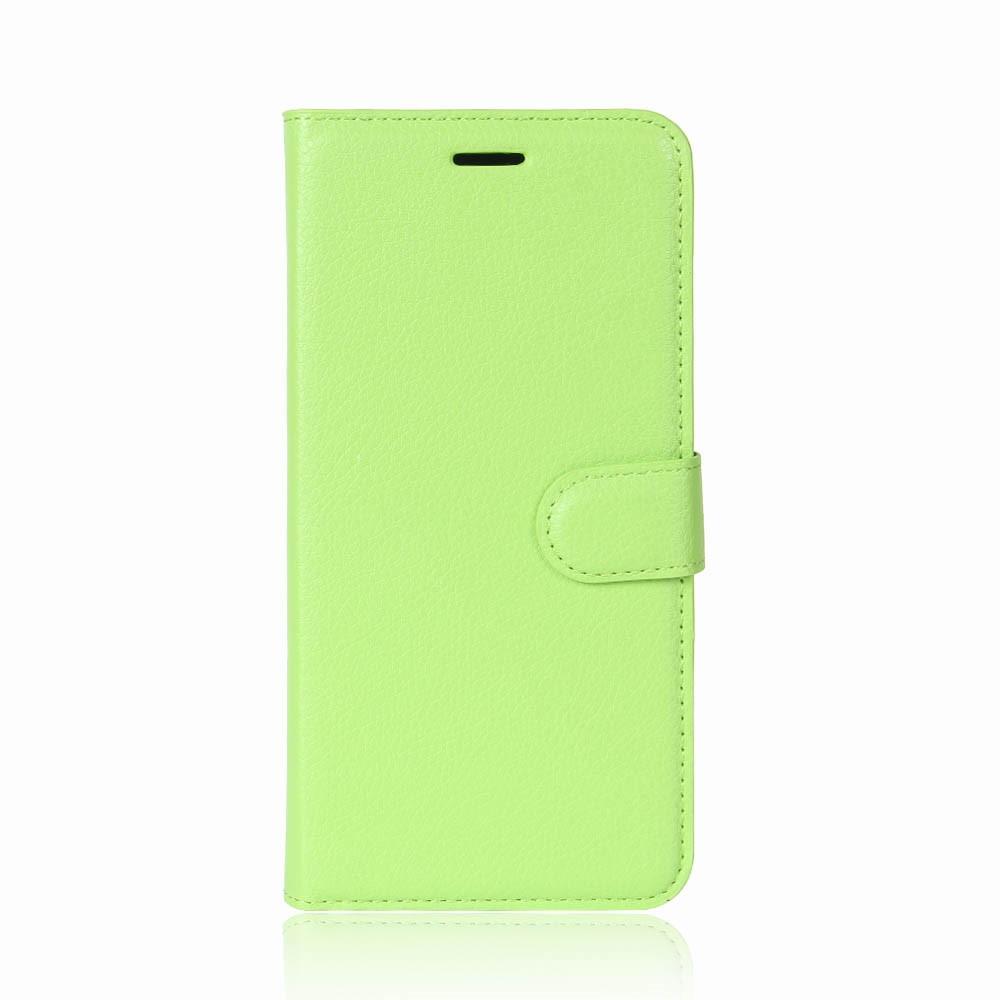 Litchi Plånboksfodral OnePlus 5T - Grön