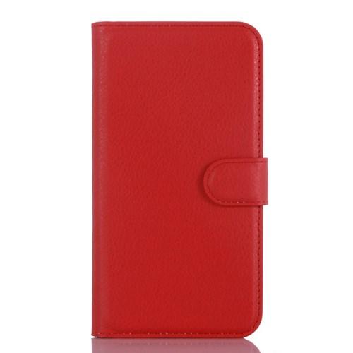 Lychee Plånboksfodral till OnePlus X - Röd
