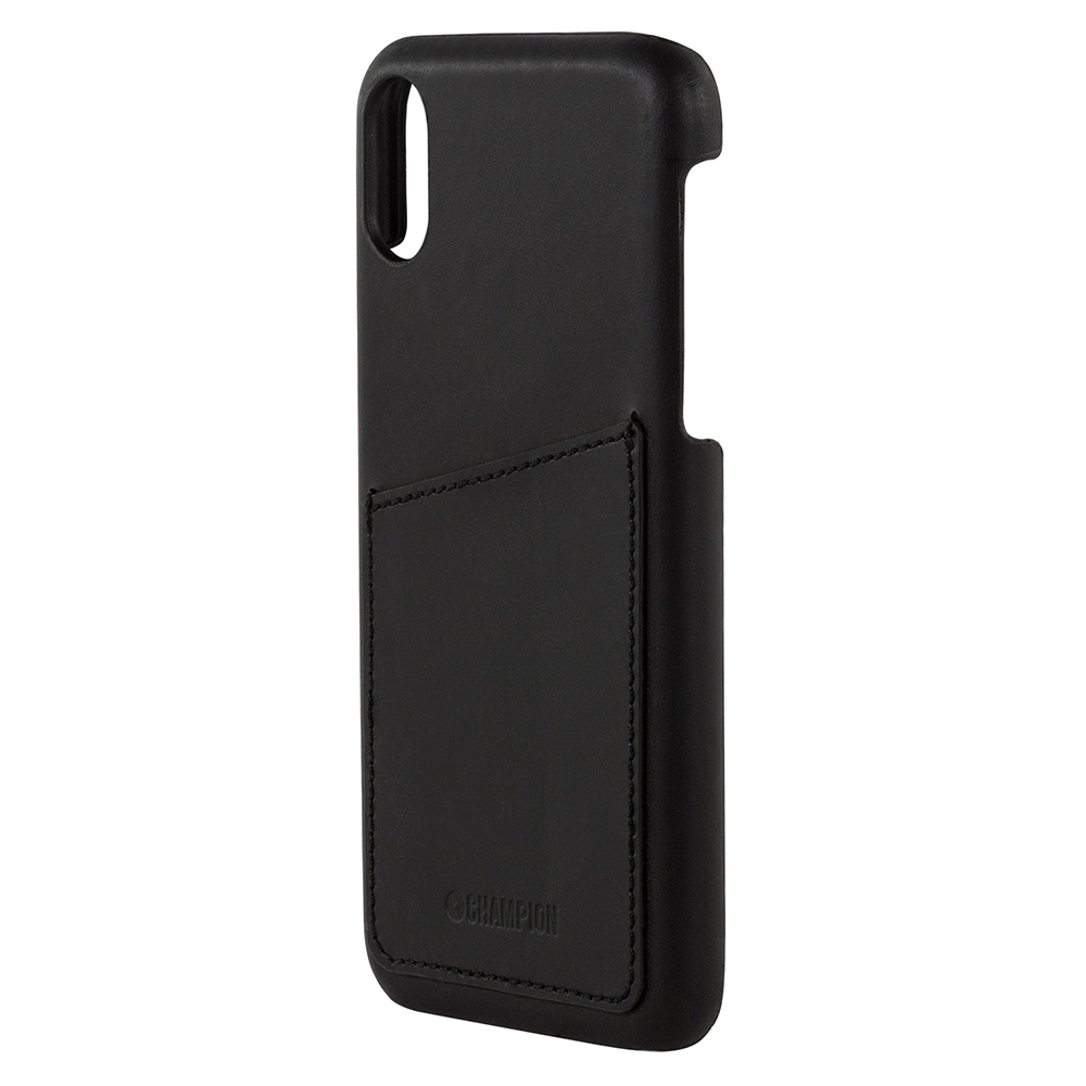 Champion Classic Case Läder iPhone XR
