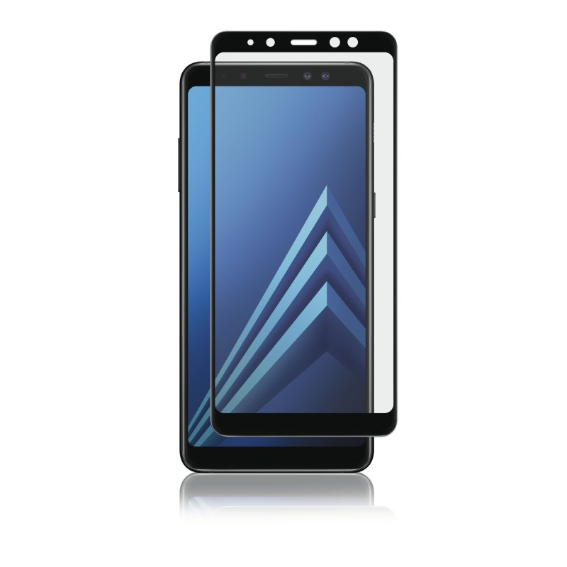Panzer Samsung Galaxy A8 2018, Curved Glass, Svart