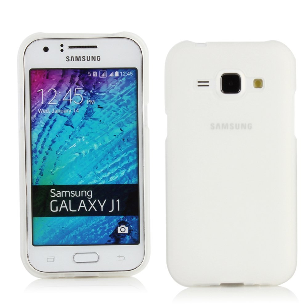 Flexicase Skal till Samsung Galaxy J1 - Matte Transparent