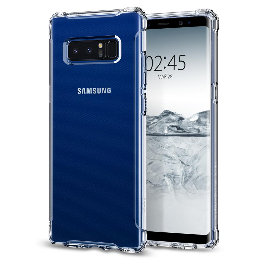 SPIGEN Rugged Crystal Skal till Samsung Galaxy Note 8 - Clear