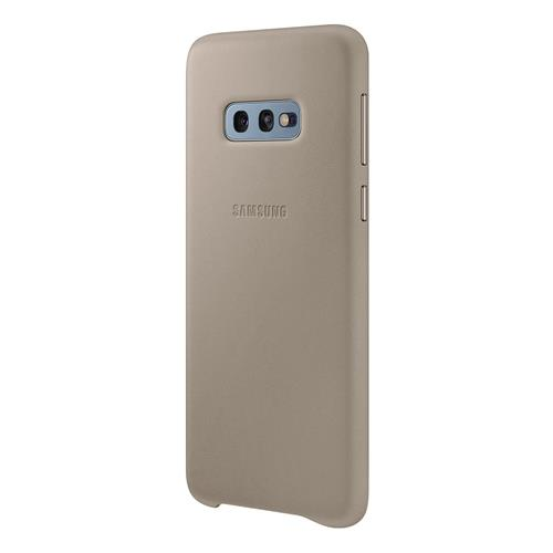 Samsung Leather Cover Galaxy S10e - Grey