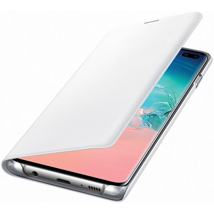 Samsung Led View Cover Galaxy S10 Plus - Vit