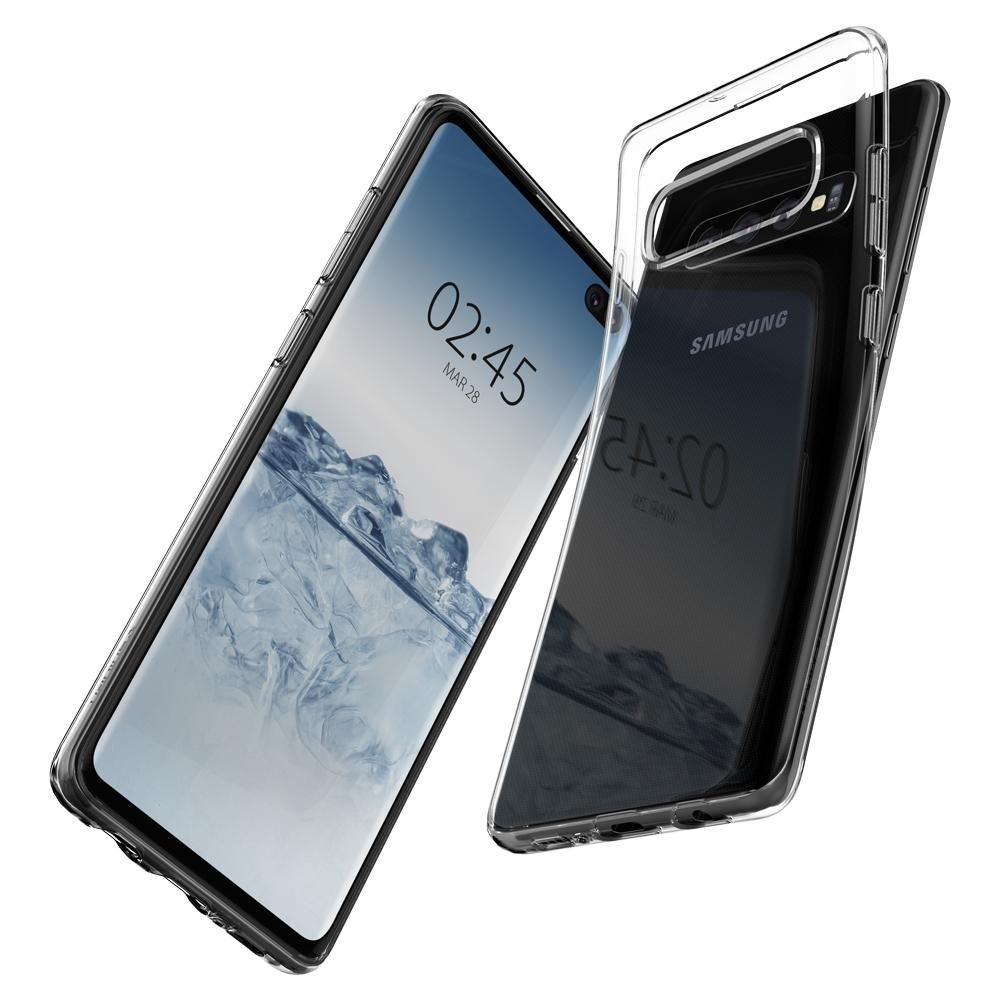 SPIGEN Liquid Crystal Skal till Samsung Galaxy S10 Plus - Clear