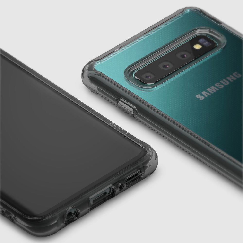 Ringke Fusion Shock Absorption Skal till Samsung Galaxy S10 - Clear