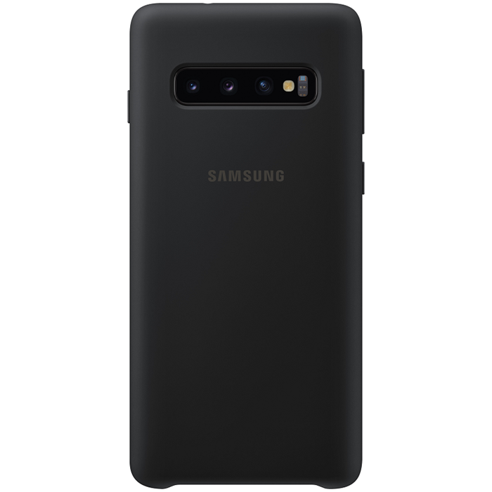 Samsung Silicone Cover Galaxy S10 Berry - Black