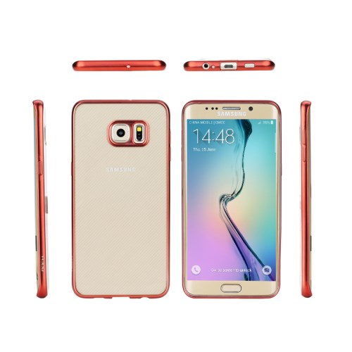 Rock Flame Series Flexi Skal till Samsung Galaxy S6 Edge Plus - R ouml d 2aea868b936f5