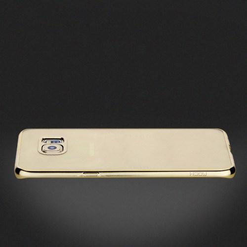 Rock Flame Series Flexi Skal till Samsung Galaxy S6 Edge Plus - Guld ... 5e1754fc65cd2