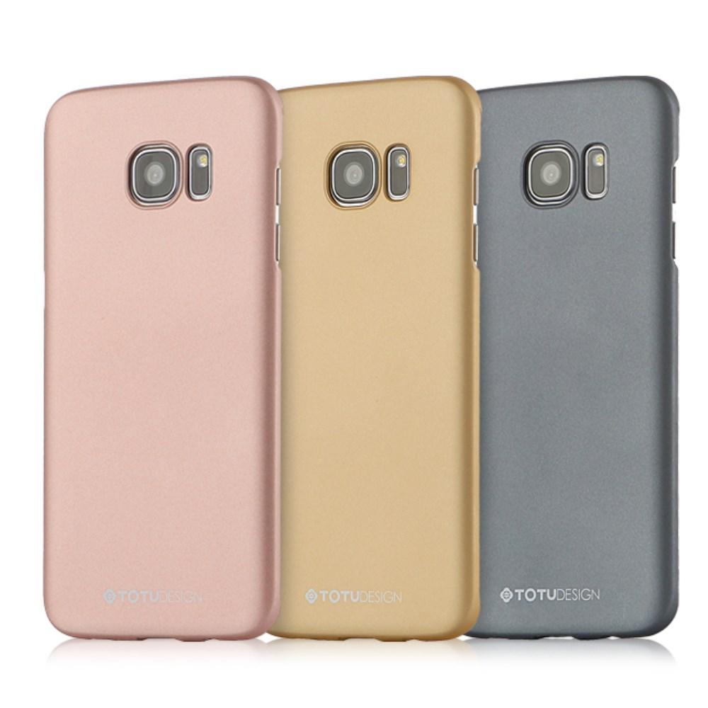 TOTU Color Series Skal till Samsung Galaxy S7 Edge - Guld