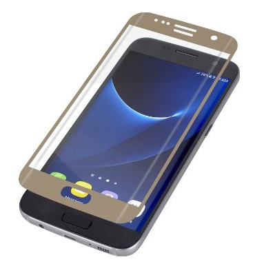 InvisibleShield Glass Samsung Galaxy S7 Contour Screen - Guld