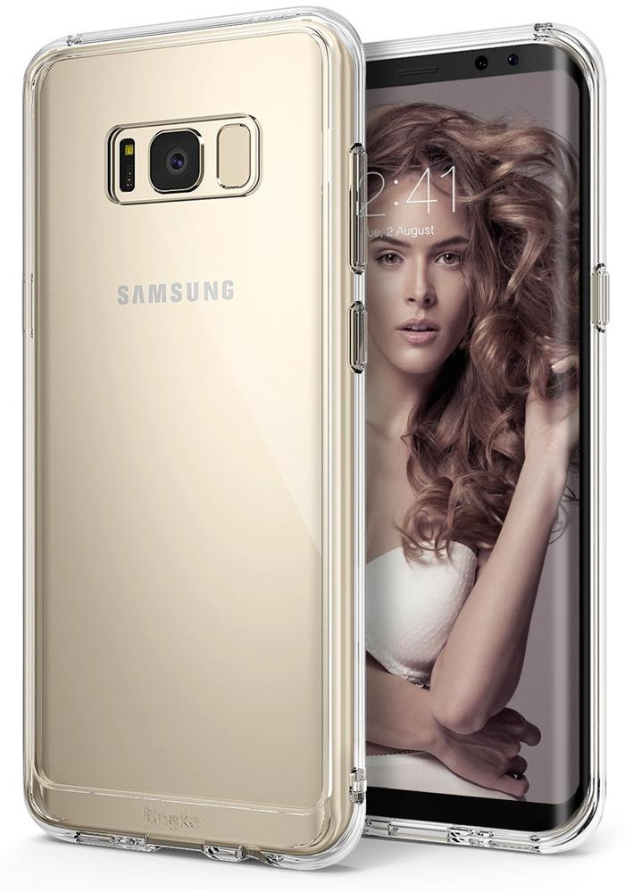 Ringke Fusion Shock Absorption Skal till Samsung Galaxy S8 Plus - Clear