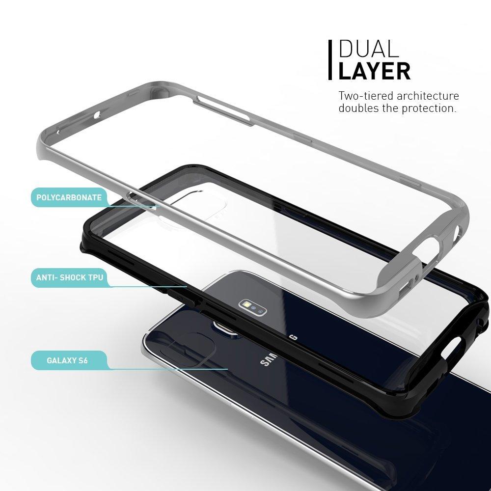 newest c4328 f87b8 Caseology Waterfall Series BaksideSkal till Samsung Galaxy S6 Edge ...