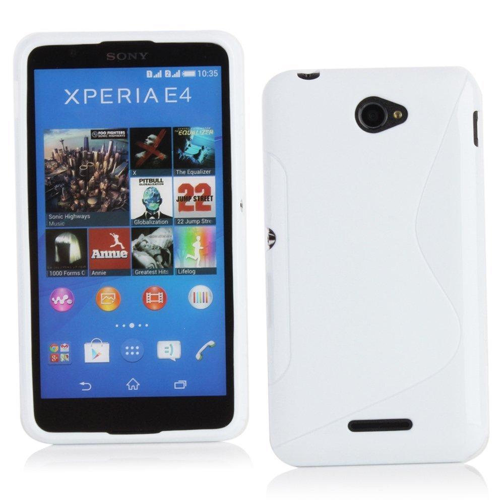 Flexicase Skal till Sony Xperia E4g - Vit