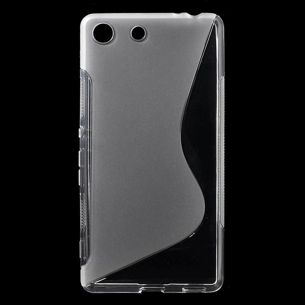 Mobilskal till Sony Xperia M5 - Vit/Transparent