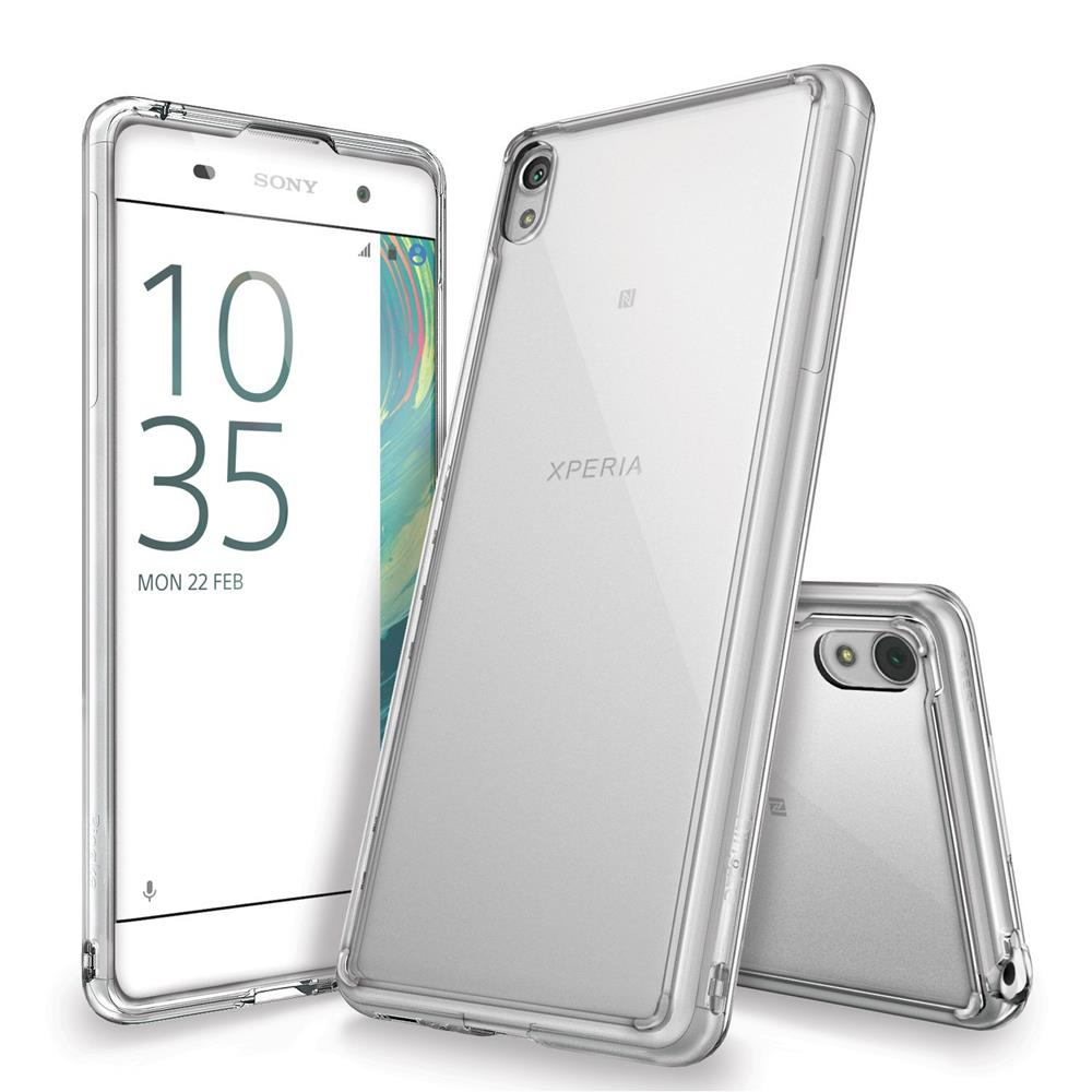 Ringke Fusion Shock Absorption Skal till Sony Xperia XA - Clear