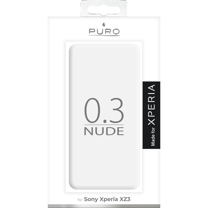 Puro Sony Xperia XZ3 - Transparent - TheMobileStore d64c07bef1297