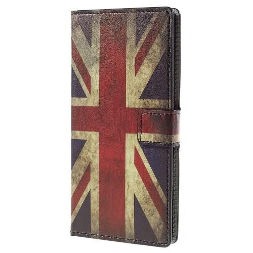 Plånboksfodral till Sony Xperia Z5 Premium - British