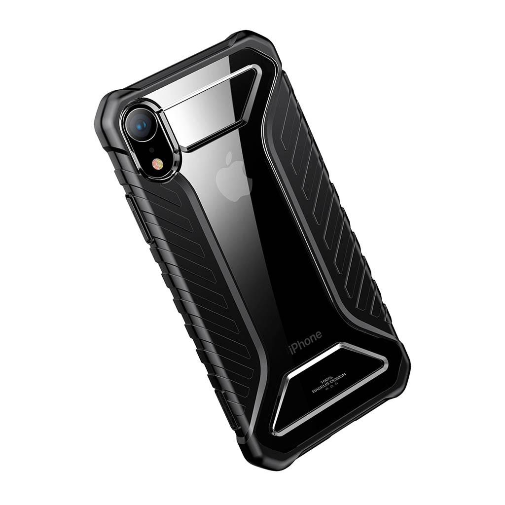 Mobilskal   iPhone XR   Baseus   Michelin Case Svart