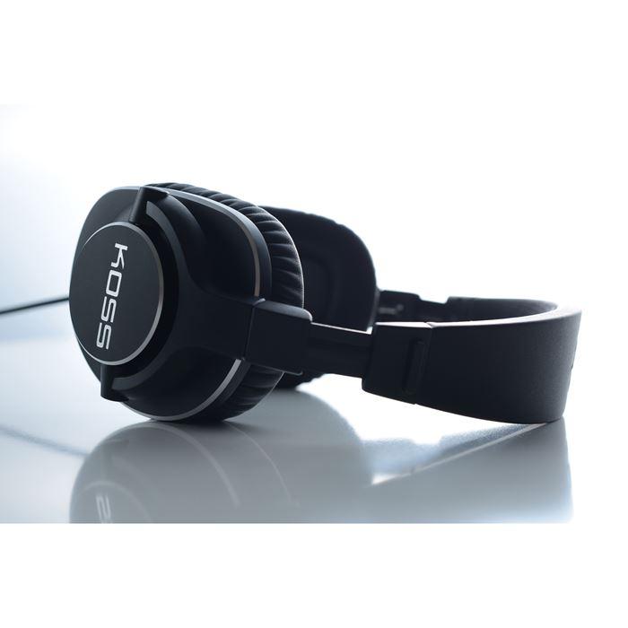KOSS Hörlur Pro4s Svart Over-Ear Spiralkabel