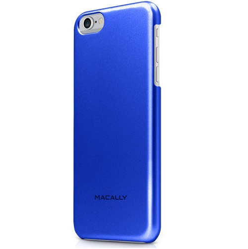 Macally Skal till Apple iPhone 6(S) Plus - Metallic Blue