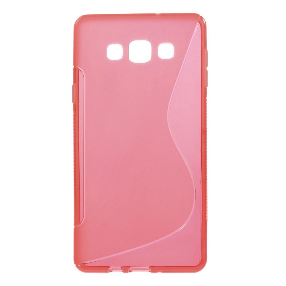 Flexicase Skal till Samsung Galaxy A7 - Röd