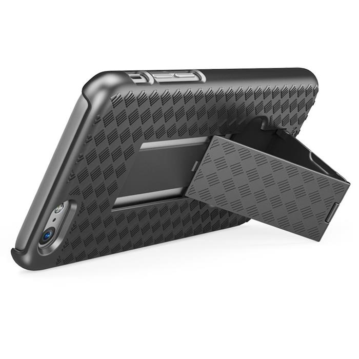 i-Blason Transformer Holster Kickstand Skal till Apple iPhone 6 / 6S  - Svart