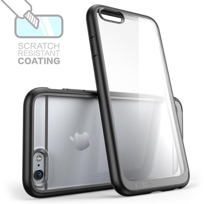 i-Blason Halo scratch resistant skal till Apple iPhone 6(S) Plus - Svart
