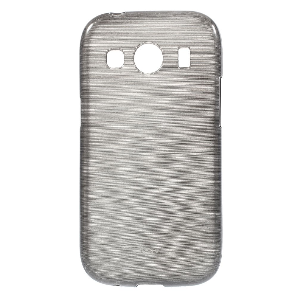 Mobilskal   Galaxy Ace 4   Flexicase   Brushed Svart