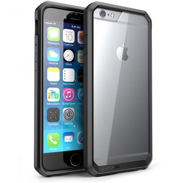 SupCase Unicorn Hybrid Skal till Apple iPhone 6 / 6S  - Svart
