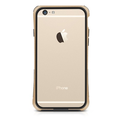 Macally Protective Frame till iPhone 6 / 6S  - Champagne